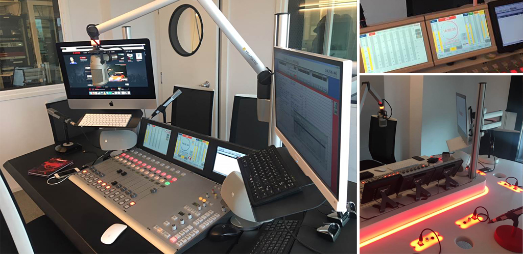 Estudio de radio Grup Flaix