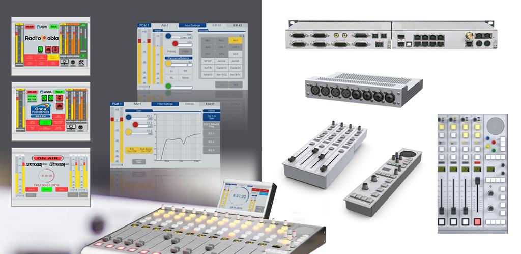 Mesa Digital DHD 52SX componentes
